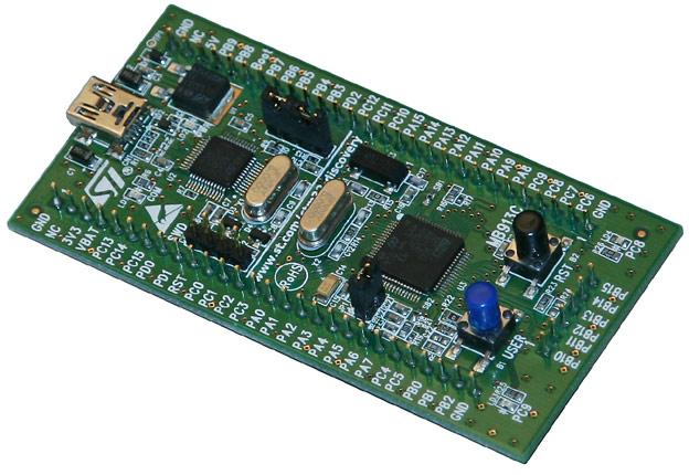 Рис.4. Микроконтроллер STM32
