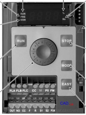 Рис.1. Преобразователь частоты TOSHIBA VF-nC3