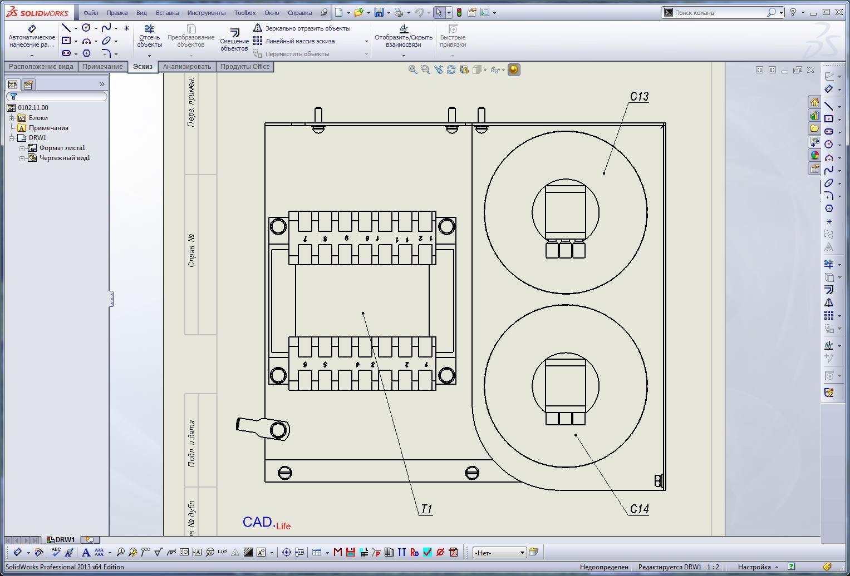 Solidworks 2013|Ассоциативная маркировка электрических элементов (компонентов) в сборке